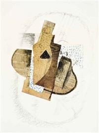 ten works (set of 10); vere et la pomme (11 works) by georges braque