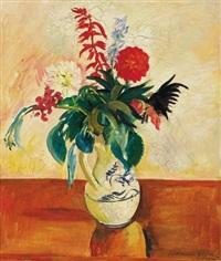 virágcsendélet (still life of flowers) by géza bornemisza