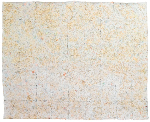 untitled from feast day of iemanja ii by howardena pindell