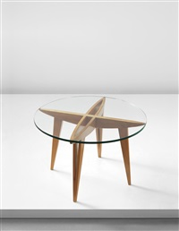 early coffee table from a private commission by gio ponti