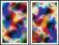substrat 19ⅱ, substrat 20ⅰ (2 works by thomas ruff
