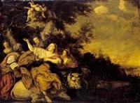 the rape of europa by j.h. bosch