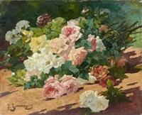 jeté de roses by georges jeannin