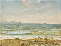 along the north shore, long island by william sidney mount