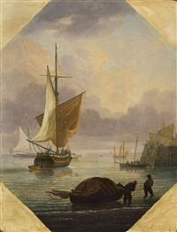the harbour by thomas luny