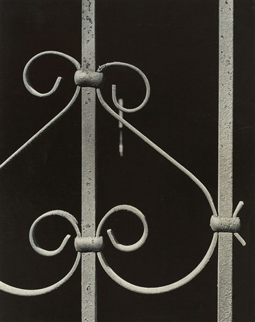 untitled from the series old iron work of new york by aaron siskind
