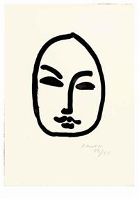 masque d'après d.a. i by henri matisse