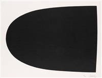 black form (from portfolio 9) by ellsworth kelly