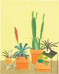 yellow plant interior (study) by jonas wood