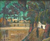 sous les palmiers by georges hanna sabbagh