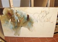 elephant (sketch) by keith joubert