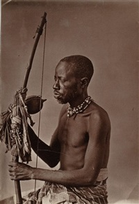 sorcier africain emmené en inde par un maharadjah by surgeon g. western and captain w.w. hooper