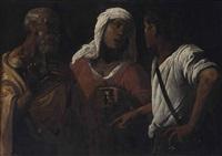 the denial of saint peter by hendrick terbrugghen