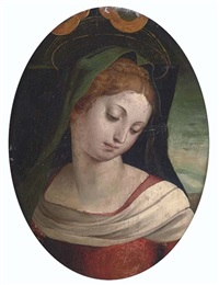the madonna by luca (romano) penni