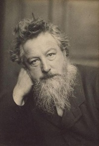 portrait of william morris by frederick hollyer
