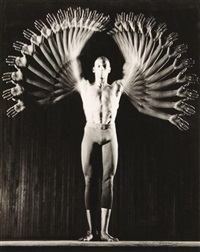 gus solomons, dancer by harold eugene edgerton