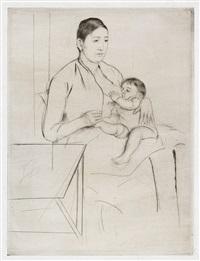 nursing by mary cassatt