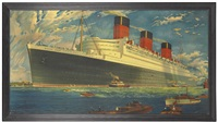 """r.m.s. queen mary"" outward bound by william mcdowell"