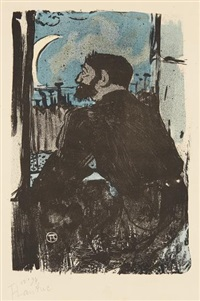 nuit blanche by henri de toulouse-lautrec