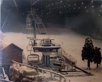 ski dubai (the first indoor ski resort in the middle east, sheikh zayed road, dubai) by taryn simon