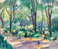 luxembourg gardens by martha walter