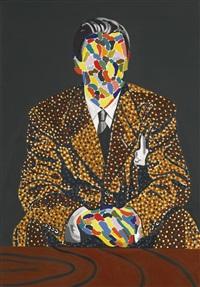 peintre et manteau by eduardo arroyo