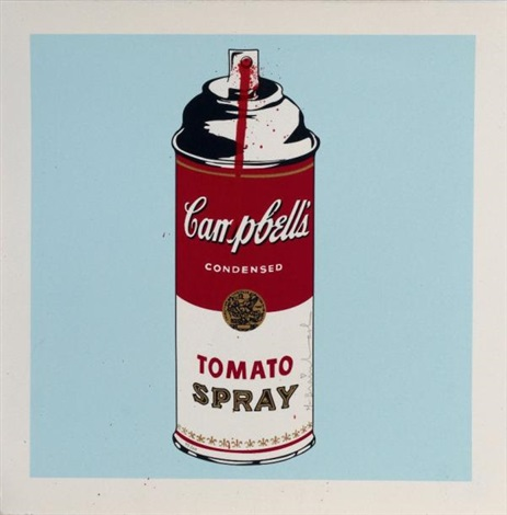 campbell's soup by mr. brainwash