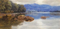 lough eske, county donegal by mary georgina barton
