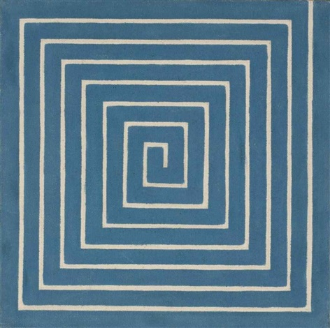 labyrinth by frank stella