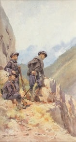 chasseurs alpins by pierre comba