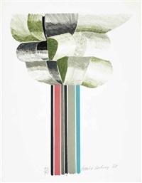 tree by david hockney