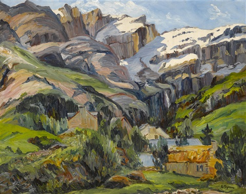 cabins in the high country by george gardner symons