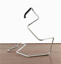 untitled (action sculpture) by wade guyton