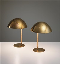 table lamps, model no. 9209 (pair) by paavo tynell