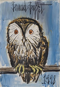 chouette by bernard buffet