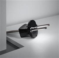 prototype 'fiche mâle' lamp by yonel lebovici