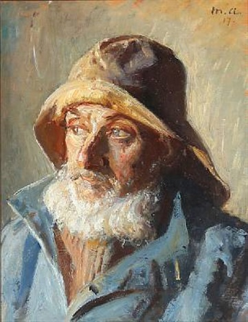 a fisherman by michael peter ancher