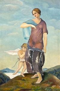žena s andělem by ladislav sima