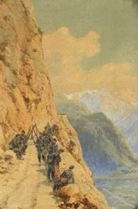 la halte des chasseurs alpins by pierre comba