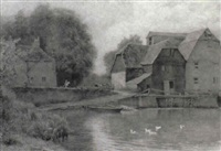 the old mill by wilmot pilsbury