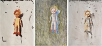 untitled (from the doll series)(+ 2 others; 3 works) by gunter sylvester christmann