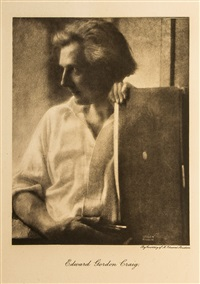 on the art of the theatre fontispiece by edward steichen