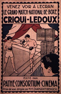 criqui-ledoux by posters: sports - boxing