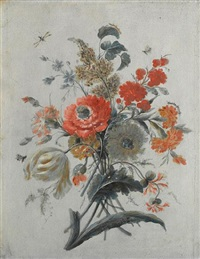 flowers and insects (study) by adèle riché