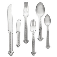 a flatware service (set of 76) by hector aguilar