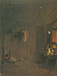interno di cucina by giuseppe abbati