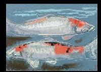 carp (sketch) by kato toichi