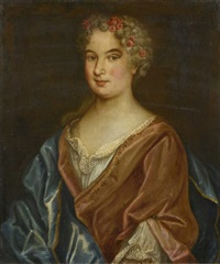 portrait d'une femme de qualité by french school (17)