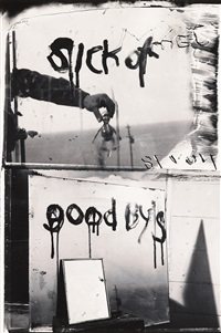 sick of goodby's by robert frank