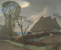 old essex in november by sir george clausen